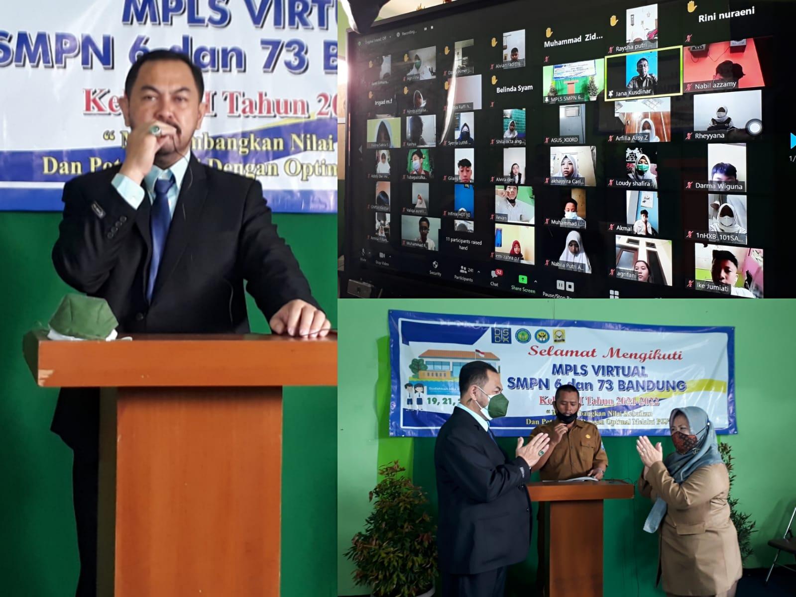 MPLS Tahun Ajaran 2021-2022 SMPN 6 dan SMPN 73 Kota Bandung