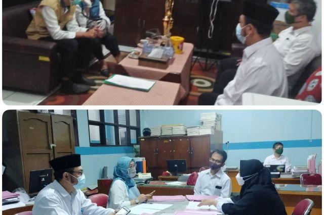 Gambar Verifikasi Kesiapan Pelaksanaan PTMT di SMPN 6 Bandung
